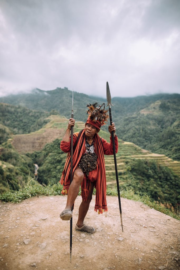 Einheimischer der Ifugao in Nord Luzon Banaue ©Philippine Department of Tourism