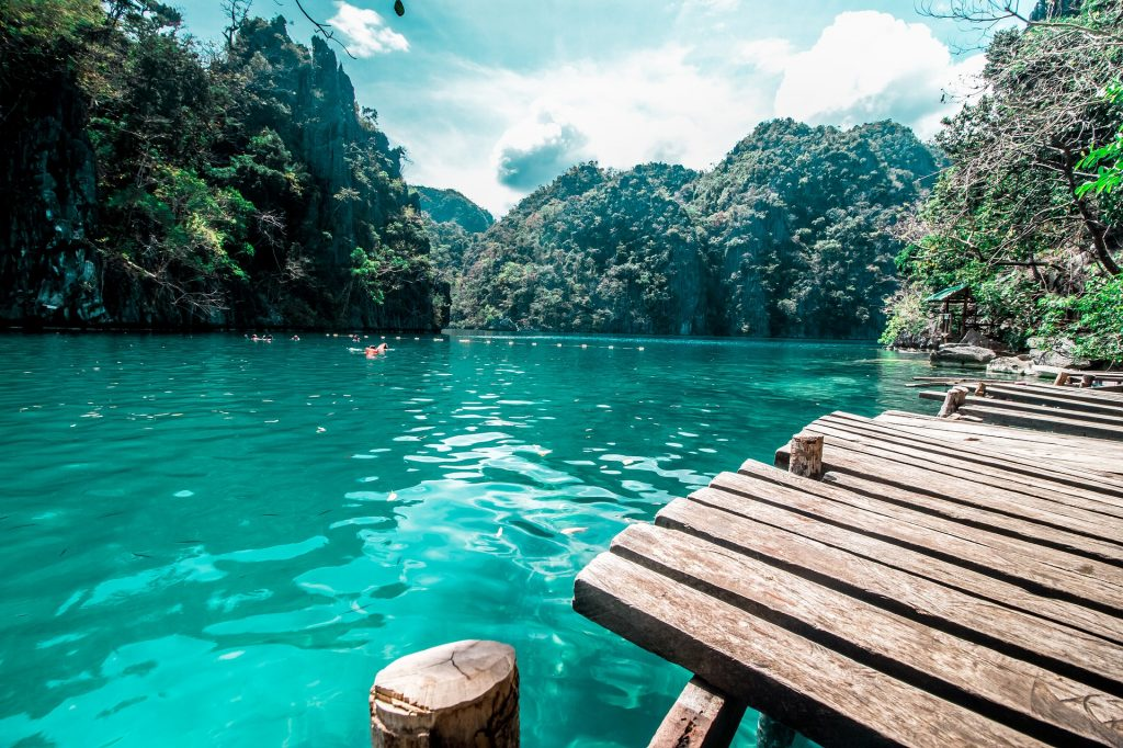 kayan lake coron beim Island hopping